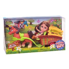 Country Kinz 4 Piece Harvest Hayride Set
