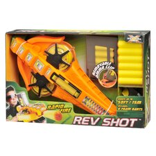 Total Air X-Stream Rapid Fire Rev Shot Dart Gun