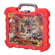 Corps 4 Piece Mission Case Set with 3 Figures