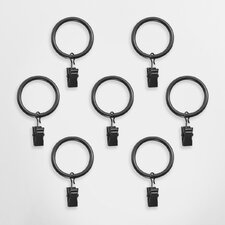 Clip Curtain Ring (Set of 7)