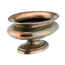 Aluminum Raw Oxydized Vase