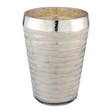 Hand Cut Glass Vase