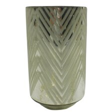 Medium Square Diamond Frost Hurricane/Vase