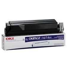 41331701 OEM Toner Cartridge, 4000 Page Yield, Black