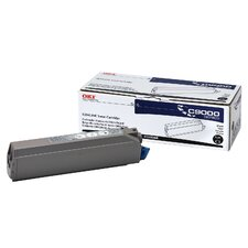41515208 OEM Toner Cartridge, 15000 Page Yield, Black