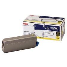 41304205 OEM Toner Cartridge, 10000 Page Yield, Yellow