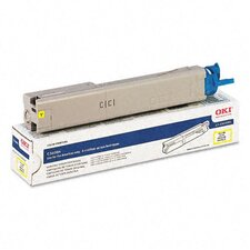 OEM Toner Cartridge, 2000 Page Yield, Yellow