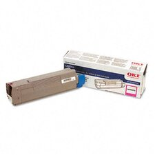 OEM Toner Cartridge, 6000 Page Yield, Magenta