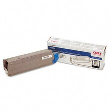OEM Toner Cartridge, 6000 Page Yield, Black