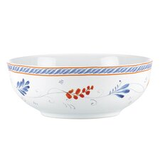 "<strong>Kathy Ireland by Gorham</strong> Spanish Botanica Vegetable 9"" Serving Bowl"