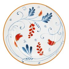 "<strong>Kathy Ireland by Gorham</strong> Spanish Botanica 6.7"" Canape Plates (Set of 4)"