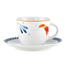 Spanish Botanica 7 oz. Cup and Saucer