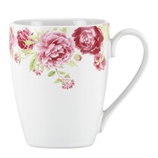 <strong>Kathy Ireland by Gorham</strong> Blossoming Rose 13 oz. Mug