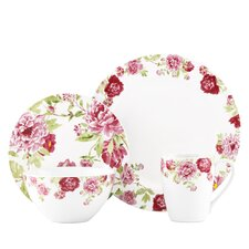 <strong>Kathy Ireland by Gorham</strong> Blossoming Rose 4 Piece Place Setting