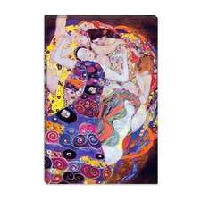 """Virgin"" Canvas Wall Art by Gustav Klimt"