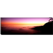 Sea at Sunset, Point Lobos State Reserve, Carmel, Monterey County, California Canvas Wall Art