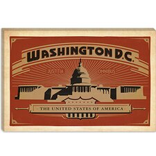 <strong>iCanvasArt</strong> Washington, D.C Canvas Wall Art