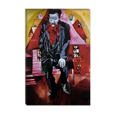"""Red Jew, 1915"" Canvas Wall Art by Marc Chagall"