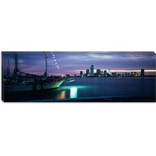 Miami, Miami-Dade County, Florida Canvas Wall Art