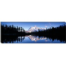 <strong>iCanvasArt</strong> Mt Shuksan, North Cascades National Park, Washington State Canvas Wall Art