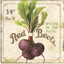 """Red Beets (On Special III)"" Canvas Wall Art by Lisa Audit"