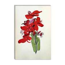 "<strong>iCanvasArt</strong> ""Red Canna"" Canvas Wall Art by Georgia O'Keeffe"
