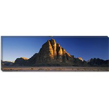 <strong>iCanvasArt</strong> Seven Pillars of Wisdom, Wadi Rum, Jordan Canvas Wall Art