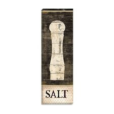 """Salt and Pepper I"" Canvas Wall Art by Daphne Brissonnet"