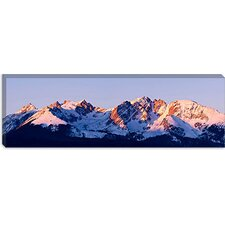 "<strong>iCanvasArt</strong> ""Rocky Mountain Range"" Canvas Wall Art by Dan Ballard"