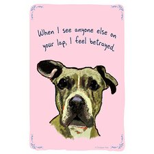 Loyal Roxy Canvas Print Wall Art