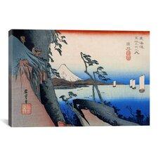 Ando Hiroshige 'Yui (Takaido)' by Utagawa Hiroshige I Graphic Art on Canvas