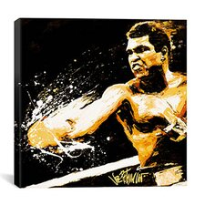 Muhammad Ali 'Ali Fury' by Joe Petruccio Graphic Art on Canvas