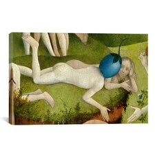 'Berry Man Central Panel from the Garden of Earthly Delights' by Hieronymus Bosch Painting Print on Canvas