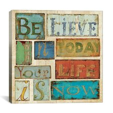 """""""Believe and Hope"""" Canvas Wall Art by Daphne Brissonnet"""