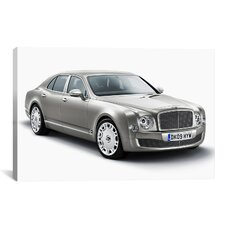 Cars and Motorcycles Bentley Mulsanne Photographic Print on Canvas