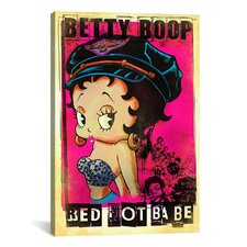 Betty Boop Red Hot Babe Graphic Art on Canvas