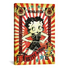 Betty Boop Revolution Graphic Art on Canvas