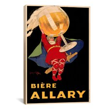 Biere Allary-Linen Vintage Advertisement on Canvas