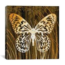 """Butterflies & Leaves"" Canvas Wall Art by Erin Clark"