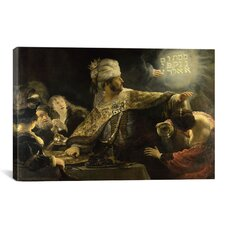 'Belshazzar' by Rembrandt Painting Print on Canvas