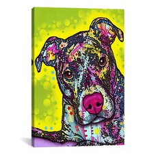 'Brindle' by Dean Russo Graphic Art on Canvas