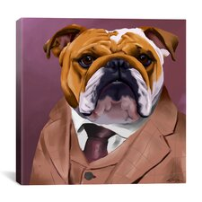 'Bull Dog 2_003' by Brian Rubenacker Graphic Art on Canvas