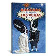 'BT Frank Vegas' by Brian Rubenacker Painting Print on Canvas
