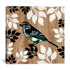"""Bird Patchwork I"" Canvas Wall Art by Erin Clark"