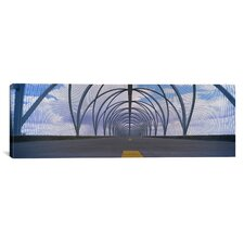 Panoramic Chain-Link Fence Covering a Bridge, Snake Bridge, Tucson, Arizona Photographic Print on Canvas