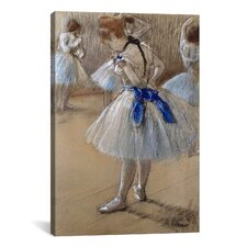 'A Study of a Dancer (Danseuse)' by Edgar Degas Painting Print on Canvas