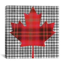 Canadian Flag, Maple Leaf #8 Graphic Art on Canvas