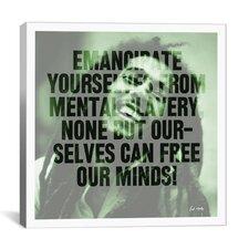 Bob Marley Quote Canvas Wall Art
