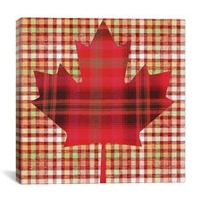 Canadian Flag, Maple Leaf #9 Graphic Art on Canvas