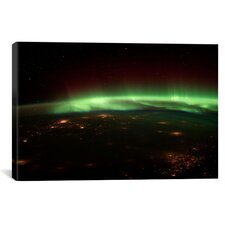 Astronomy and Space Aurora Borealis Graphic Art on Canvas